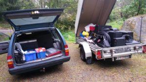 Transport montering