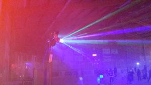 Hyra ljuseffekter till festen. Hyra rökmaskin