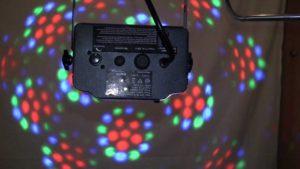 Led ljuseffekt till barnkalas