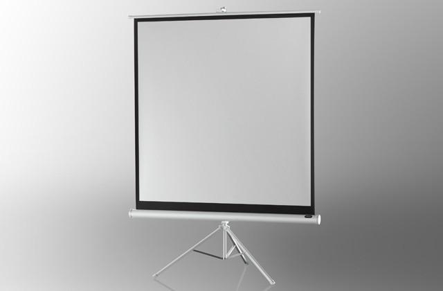 Hyr projektor och duk  Portabel Projektorduk 2,4x2,4m